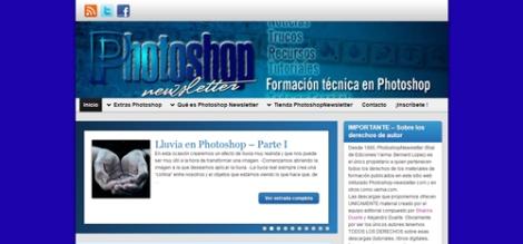 Photoshop newsletter