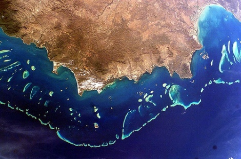 Great Barrier Reef, Australia, por eutrophication&hypoxia