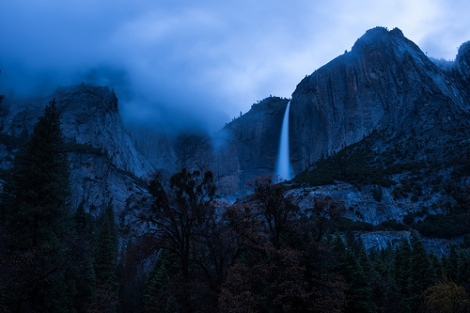 Evening descends upon Yosemite, por Justin Kern