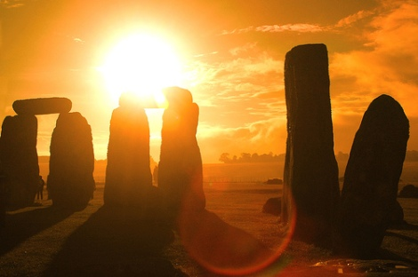 Stonehenge, UK, por Grufnik