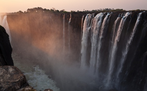 Victoria Falls, por Julien Lagarde